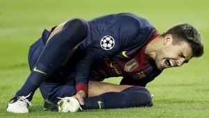 Las fatídicas lesiones deportivas