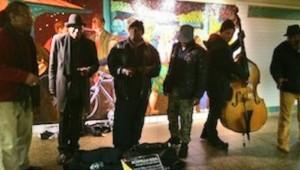Cantando en el metro con ACapella Soul, NYC.