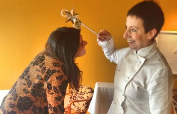 Entrevista con Carme Ruscalleda, Chef, Restaurante Sant Pau. St. Pol de Mar, Barcelona.