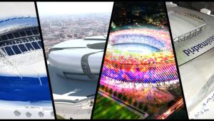 Estadios de fútbol, catedrales del siglo XXI