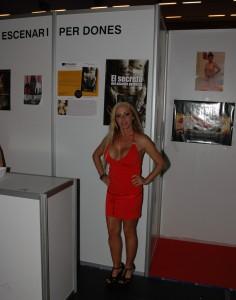 Bibian Norai, Directora del Área de la Mujer del Salón Erótico de Barcelona.