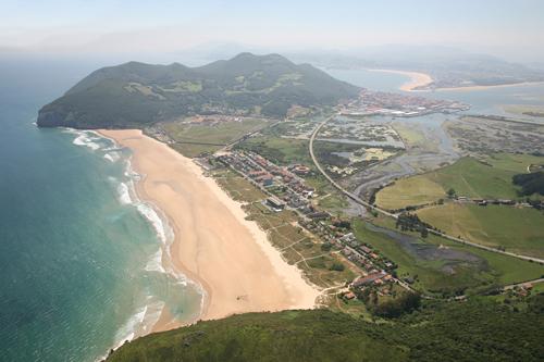 Vista aérea de Santoña.