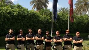 Los ángeles custodios se encuentran en Bagdad